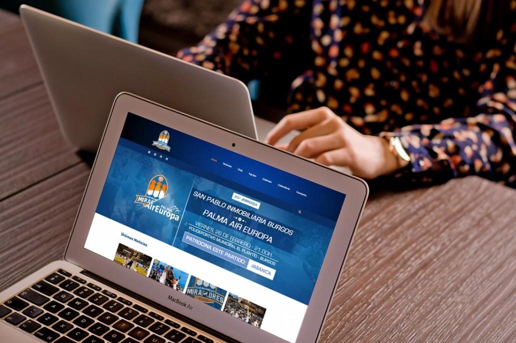 Diseño Web para Club de Baloncesto Miraflores