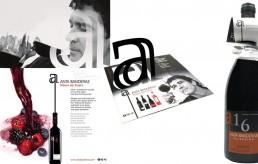 Packaging para los vinos de Anta Banderas